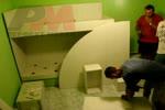 Дизайнерска детска стая с двуетажно легло